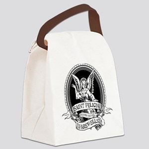 Saint Felicia Canvas Lunch Bag