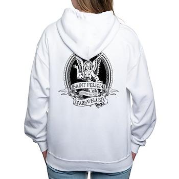 Saint Felicia Women's Hooded Sweatshirt