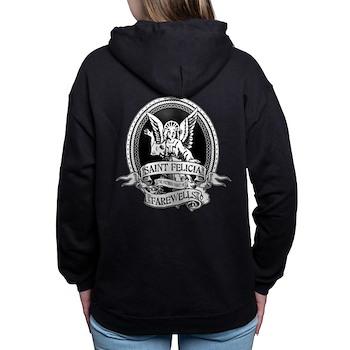 Saint Felicia Woman's Hooded Sweatshirt