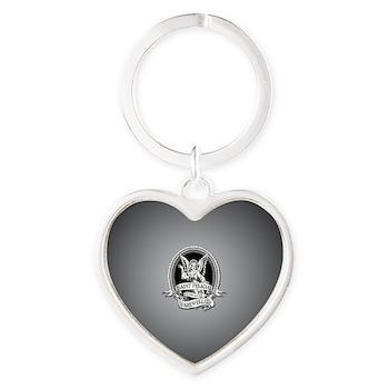 Saint Felicia Heart Keychain