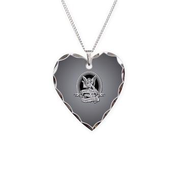 Saint Felicia Necklace Heart Charm