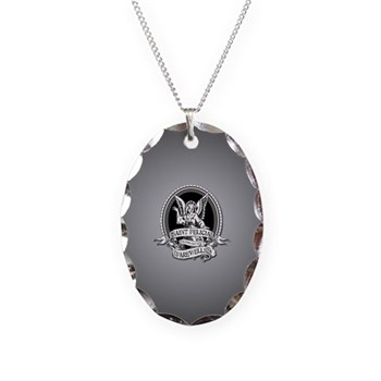 Saint Felicia Necklace Oval Charm