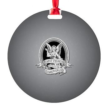 Saint Felicia Round Ornament