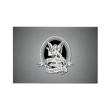 Saint Felicia Rectangle Magnet (100 pack)
