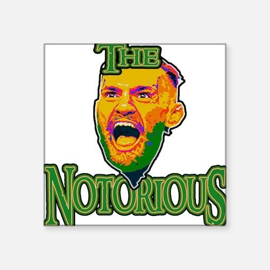 "TheNotorious Square Sticker 3"" x 3"""