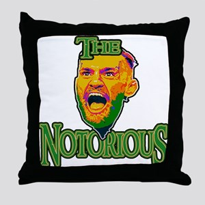 TheNotorious Throw Pillow