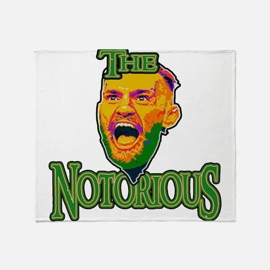 TheNotorious Throw Blanket