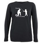 young Plus Size Long Sleeve Tee