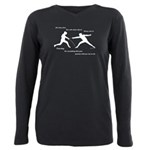 hitfirst Plus Size Long Sleeve Tee