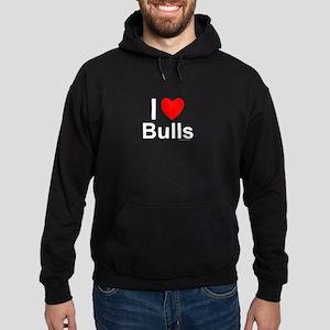Bulls Hoodie (dark)