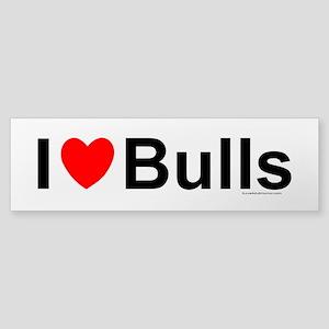 Bulls Sticker (Bumper)