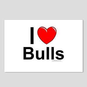 Bulls Postcards (Package of 8)