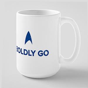 Boldly Go Star Trek Mugs