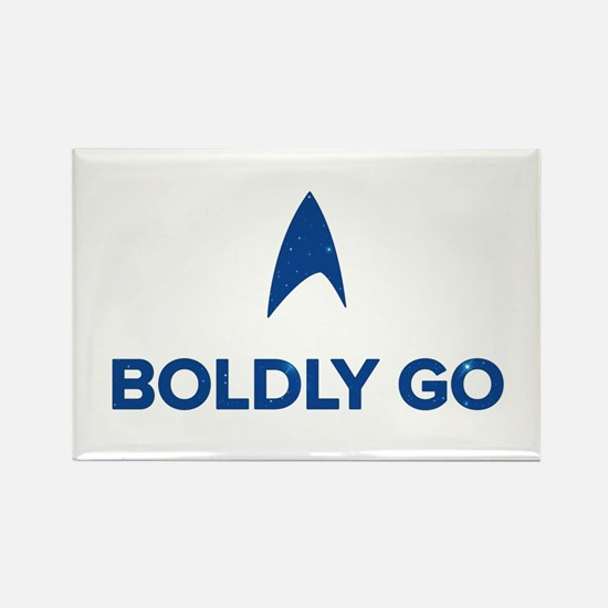 Boldly Go Star Trek Magnets