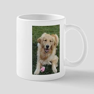 Nala the golden retroever dog Mugs
