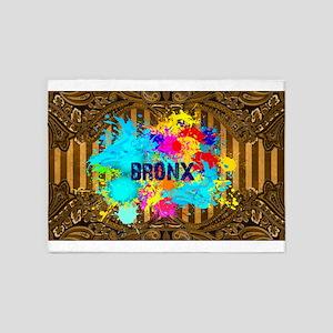 Bronx Paisley Wall 5'x7'Area Rug