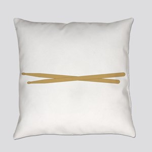 Drum Sticks Everyday Pillow