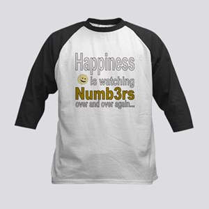 Happiness is watching Numb3rs Baseball Jersey