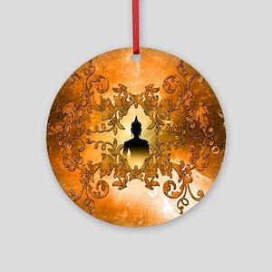 Buddha Round Ornament