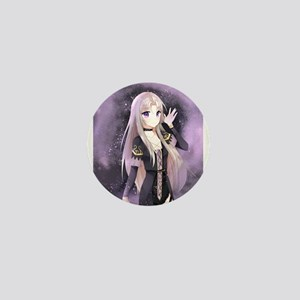 Beautiful anime girl Mini Button