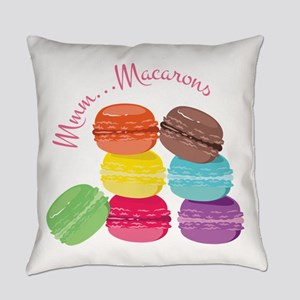 Mmm...Macarons Everyday Pillow