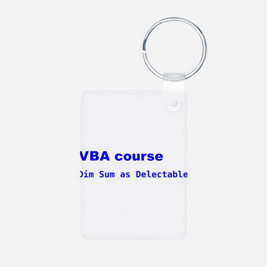 VBA course dim sum as delectable Keychains