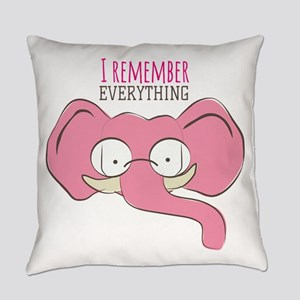 Remember Everything Everyday Pillow