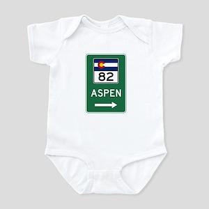 Aspen, Colorado Infant Bodysuit