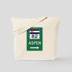 Aspen, Colorado Tote Bag