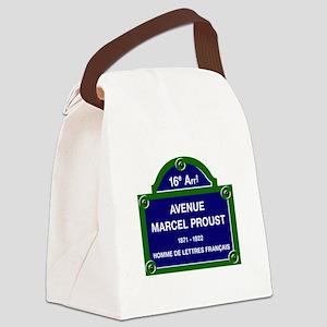 Avenue Marcel Proust, Paris, Fran Canvas Lunch Bag