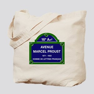 Avenue Marcel Proust, Paris, France Tote Bag