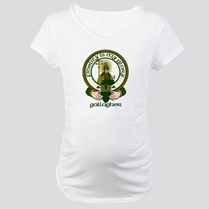 Gallagher Clan Motto Maternity T-Shirt