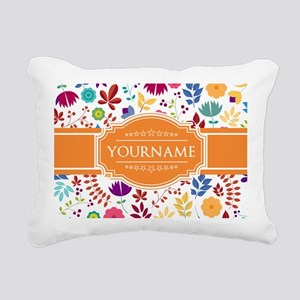 Personalized Name Monogr Rectangular Canvas Pillow