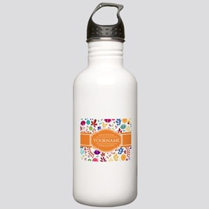 Personalized Name Mono Stainless Water Bottle 1.0L