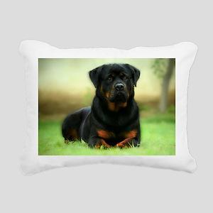Rottweiler Rectangular Canvas Pillow