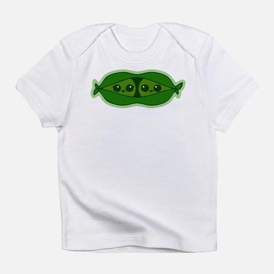 Funny Pea Infant T-Shirt