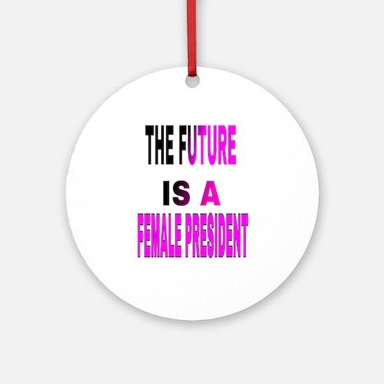 Cute Impeach obama Round Ornament
