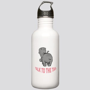 Hippo Talk To The Tail Stainless Water Bottle 1.0L