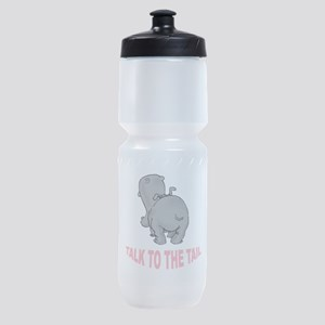 Hippo Talk To The Tail Sports Bottle