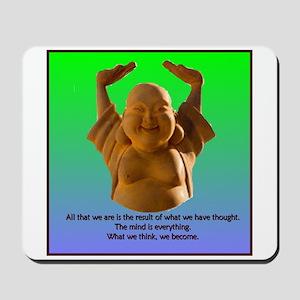 Laughing Buddha Mousepad