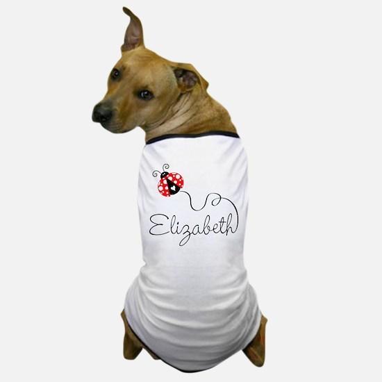 Ladybug Elizabeth Dog T-Shirt