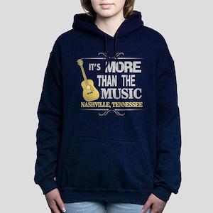 Nashville Is More Than Music-DK Women's Hooded Swe