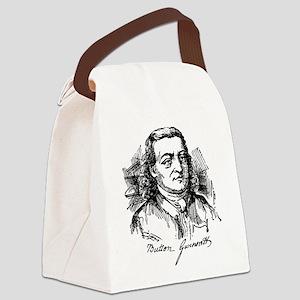 Button Gwinnett Canvas Lunch Bag