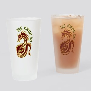 taekwondodragon Drinking Glass