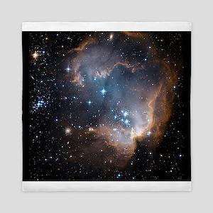 Sleeping Angel Star Cluster Queen Duvet