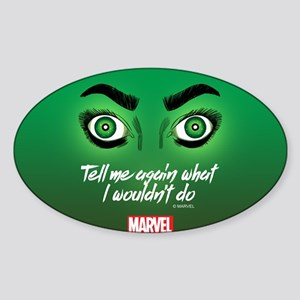 She-Hulk Tell Me Again Tumbler Sticker