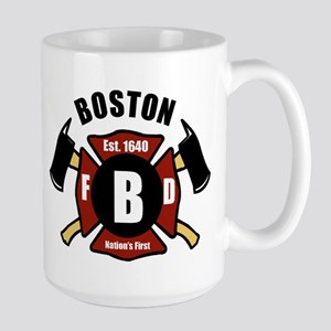 Boston Fire Department - Shield Mugs