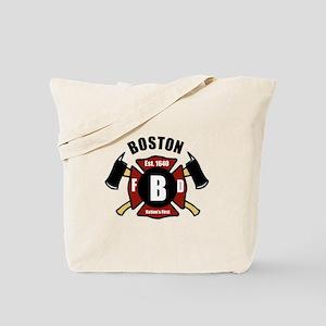 Boston Fire Department - Shield Tote Bag