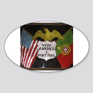 Portugese American Sticker