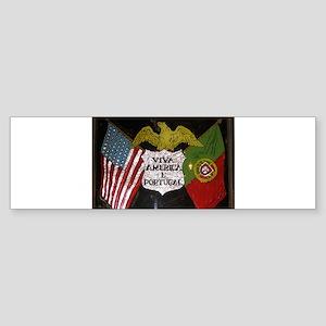 Portugese American Bumper Sticker